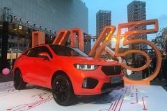 WEY VV5 1.5T售价12.58万起 为年轻人打造的高性价比SUV