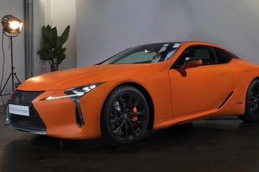 【e汽车】雷克萨斯LC 500h Matte Prototype官图发布