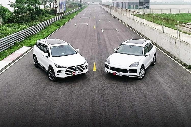 20多万最强中国SUV挑战100多万保时捷卡宴,结果……