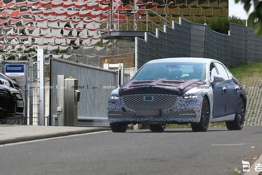 你会考虑韩系豪华车吗?全新一代捷恩斯G80将于9月公布