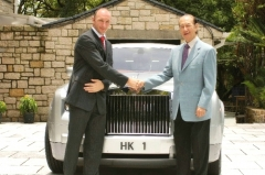 赌王何鸿燊的车牌是HK1号,豪宅也是1号,是巧合还是另有玄机