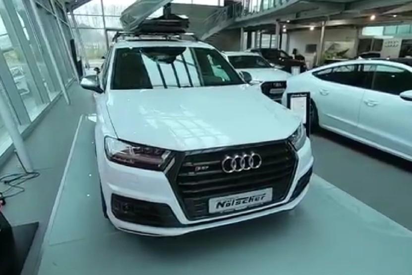 奥迪SQ7动力强油耗低(7.4L),卡宴S宝马M奔驰AMG要小心了!