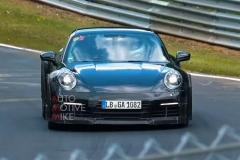 新款保时捷911 GT3测试谍照曝光 预计年底前发布