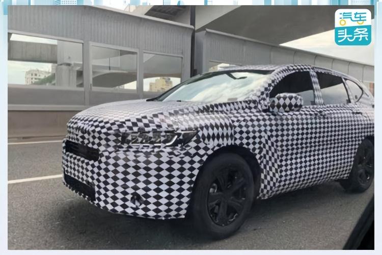 或为东本CR-V姊妹车型,广汽本田全新SUV路试谍照曝光