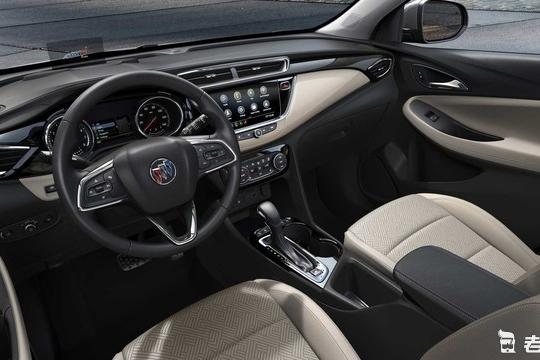 昂科拉GX内饰官图 国产版车型预计下半年上市