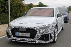 2020款奥迪RS4 Avant改款谍照曝光 九月法兰克福首发