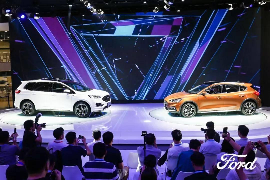 全新福克斯Active国内首发 未来3年 福特加推30余款新品