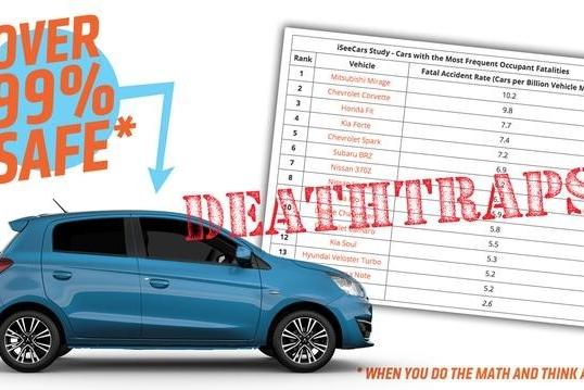 美国发布最危险汽车排行榜,开这些车的得小心了!