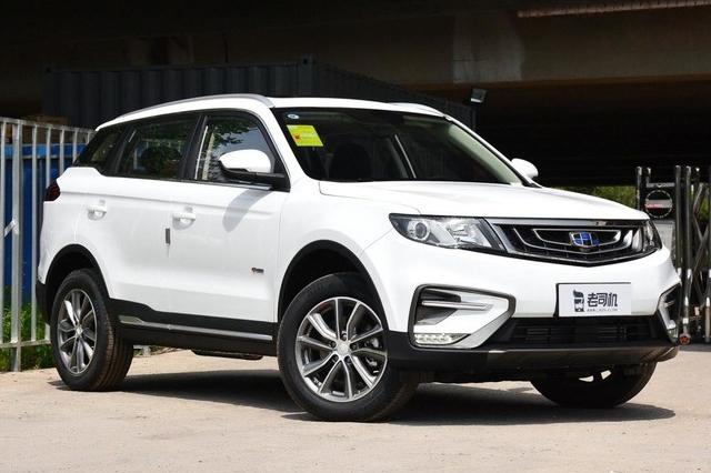 动力提升并满足国VI排放标准 吉利博越新增车型售11.78万起