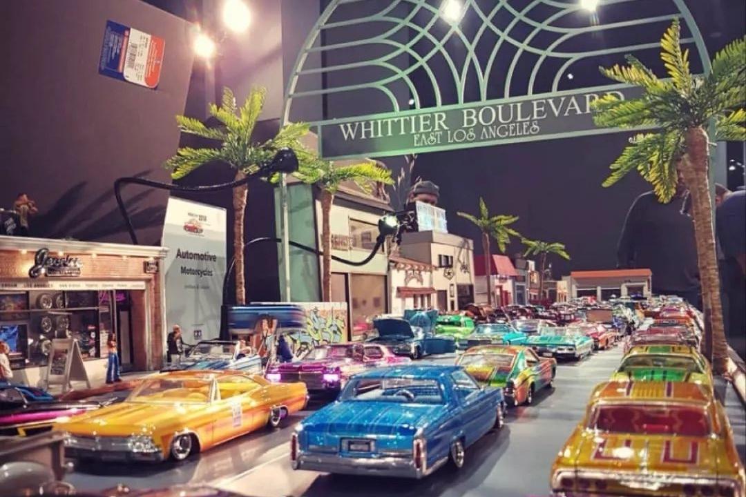Lowrider狂热爱好者,收藏的车模就花费了几十万!