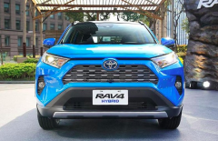 新RAV4开启海外预定,混动车型涨价4千,全球销冠果然厉害