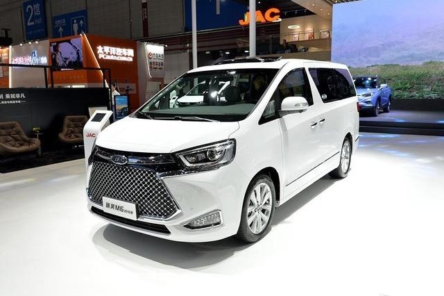 家族旗舰MPV车型 江淮瑞风M6售19.95万元起