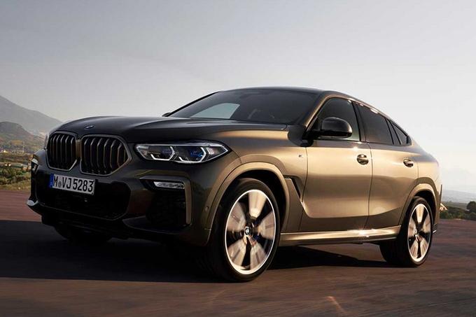 宝马全新X6,搭4.4T引擎,豪华气质超奔驰,这项配置必须要选