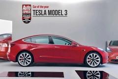 Model 3获Auto Express2019年度最佳车型大奖