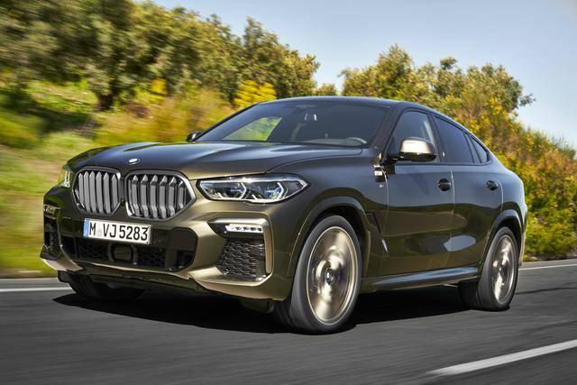 SAC创始者全新换代 第三代BMW X6搭载新一代直六