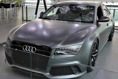 奥迪RS8官图发布 外观改进/动力升级