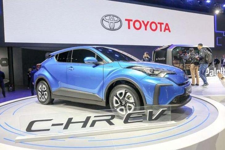 广汽丰田C-HR纯电动版将2020年上市 TNGA架构打造