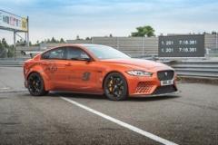 纽博格林北环赛道最快量产四门轿车揭晓 捷豹XE SV Project 8再度突破圈速纪录