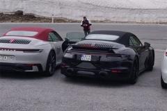 新款保时捷911 Turbo敞篷版谍照曝光 预计年底前亮相