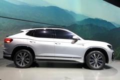 北大众推最帅轿跑SUV,轴距超2米7,年产6.5万辆,下一个网红车?