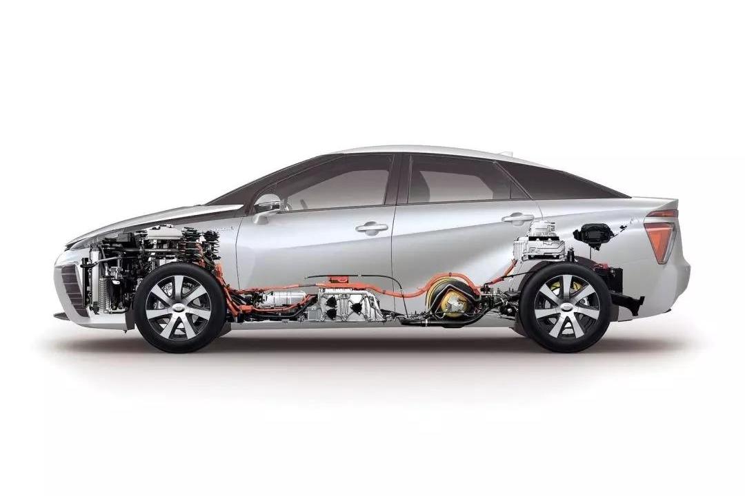 谍影:新款雷克萨斯LS将推氢燃料电池车