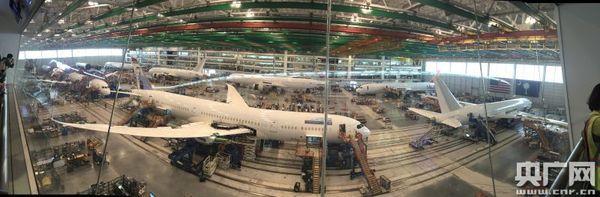 因为787飞机采用的是复合材料