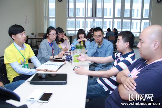 石家庄首次创业沙拉在青橙公社众创空间成功举办