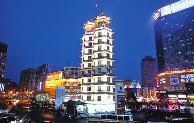 郑州二七塔-寻找河南最美建筑 昨日启动 最美建筑 献礼图片