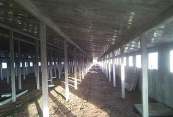 农村简易鸡棚设计平面图 畜牧场建设现代化鸡舍养鸡场规划设计图