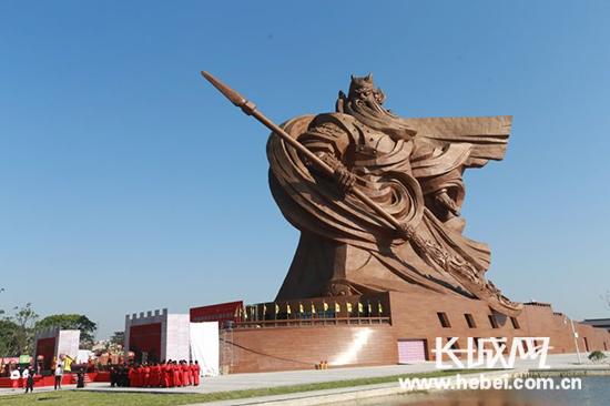 荆州关公义园。 照片来源:荆旅集团