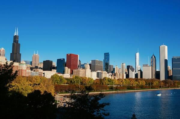 旅行线路:乘船游芝加哥河
