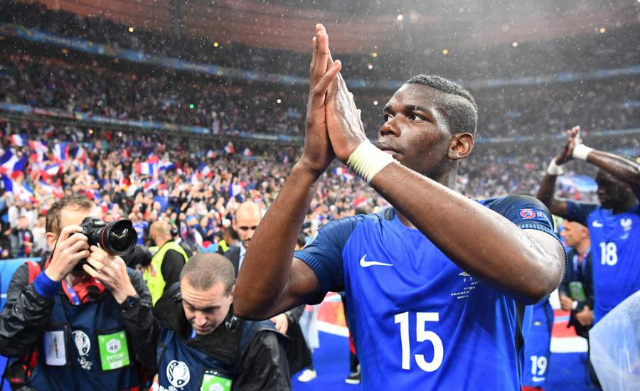 欧洲杯-进球大战!法国5-2胜冰岛进四强