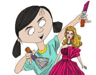 芭比娃娃化妆记图片