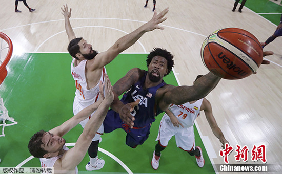 里约奥运:美国男篮82:76胜西班牙挺进决赛_凤凰资讯
