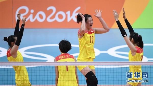 中国队获得里约奥运会女子排球冠军【亚冠决赛时间】