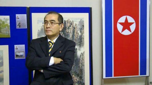 太勇浩原定于今年夏季回到朝鲜,可能是为了孩子前途的考虑而决定叛逃。(图片来源:英国广播公司网站援引法新社)