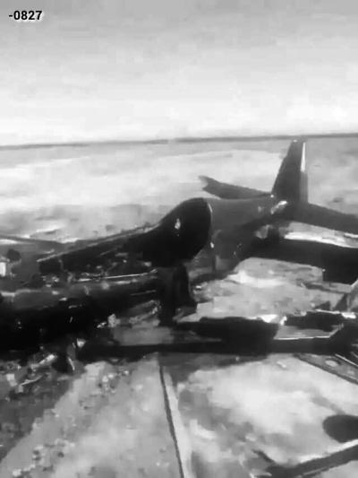 甘肃张掖航空大会一架特技飞机失事