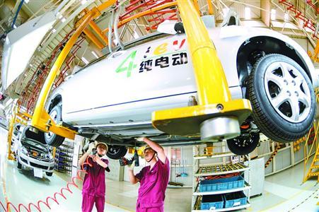江淮大众 合力造新能源车高清图片