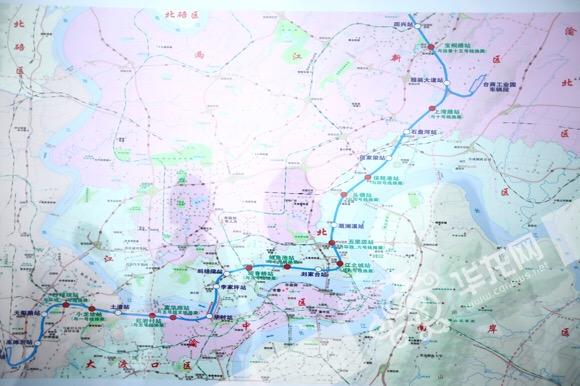重庆轨道9号线一期开工设24个站点 看看经过你家没