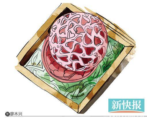 香皂雕花创新作品,用两块香皂做出一个镂空盒子形状.