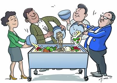 浪费粮食图片