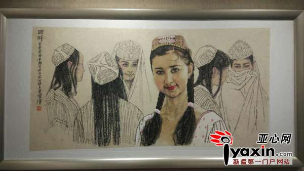 民族团结一家亲 桑皮纸上的国画 展受市民热捧