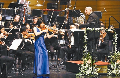 北京国际音乐节在马勒旋律中落幕高清图片
