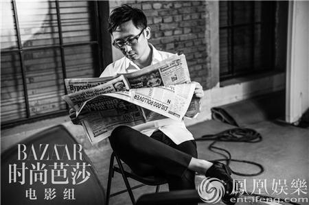 陆川最新杂志写真曝光 拍一部电影就是一次修行