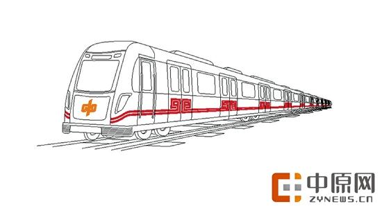 地铁简笔画步骤