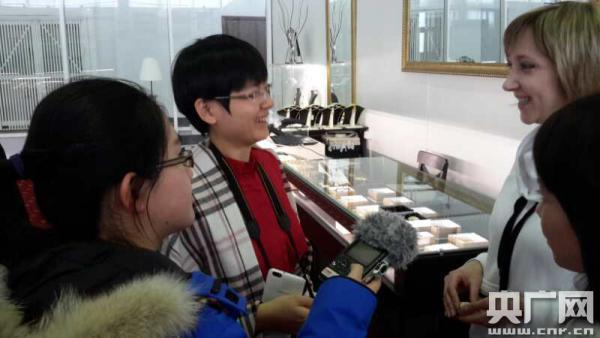 俄罗斯琥珀店期待更多中国客户