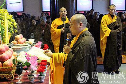 成都大慈寺僧众念佛超度南京大屠杀遇难同胞