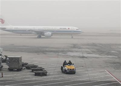 首都机场计划进港飞机60余架