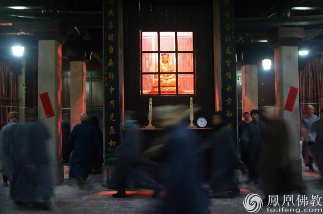 重庆双桂堂丙申年冬季禅七正在进行中