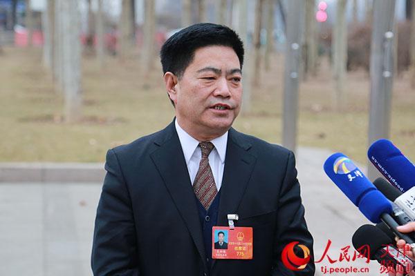 天津市民政局局长吴松林给人民网网友拜年图片